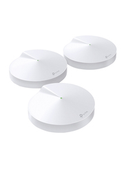 TP-Link Deco M9 Plus Smart Home Mesh Wi-Fi System, 3-Pack, White