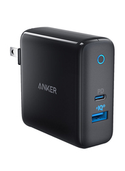 Anker PowerPort II Wall Charger, 2.0A with USB Type-C, Black