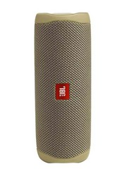 JBL Flip 5 IPX7 Waterproof Portable Bluetooth Speaker, Sand