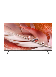 Sony 55-Inch Flat HDR 4K Ultra HD Smart LED TV, X90J, Black