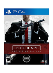 Hitman Definitive Edition for PlayStation 4 (PS4) by WB Games