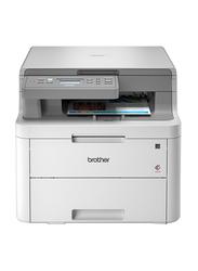 Brother BG-DCPL3510CDW Colour LED 3 in 1 Printer, White