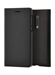 Nokia Slim Flip Case Cover for Nokia 5 Mobile Phone, CP-302, Black