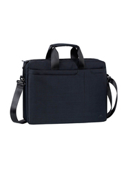 Rivacase 15.6-inch Shoulder Laptop Bag, Black