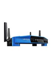 Linksys WRT3200ACM Mu-mimo Gigabit Wi-Fi Router AC3200, Black/Blue