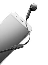 Cellularline Mantis Mono Universal 3.5 mm Jack In-Ear Earphones with Mic, Black