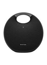 Harman Kardon Onyx Studio 6 IPX7 Waterproof Portable Bluetooth Speaker, 38W, Black