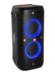 JBL PartyBox 300 Portable Bluetooth Party Speaker with Vivid Light Show Display, Black