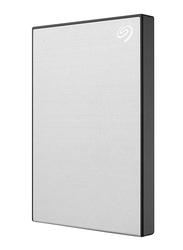 Seagate 1TB HDD Backup Plus Slim STHN1000401 External Portable Hard Drive, USB 3.0, Silver