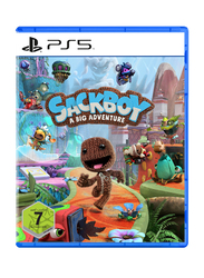 Sackboy A Big Adventure Video Game for PlayStation 5 (PS5) by Sony Interactive Entertainment