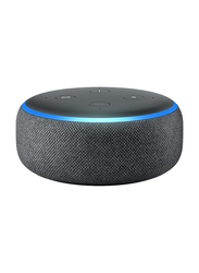 Amazon Echo Dot 3rd Generation Portable Bluetooth Speaker, Charcoal