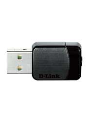 D-Link DL-DWA171 Wireless AC Nano USB Adapter, Dual-Band, Black