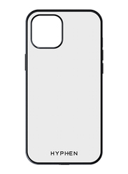 Hyphen Apple iPhone 12 5.4-inch Mobile Phone Case Cover, Clear/Black
