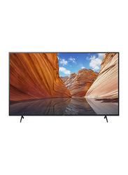 Sony 55-Inch Flat HDR 4K Ultra HD Smart LED TV, X80J, Black