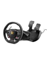 Thrustmaster T80 Ferrari 488 GTB Edition Racing Wheel for PlayStation PS4 and PC, Black