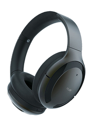 Play Go BH70 AI Based Wireless Over-Ear Hybrid Active Noise Cancelling Headphones with Mic, Graphite Grey