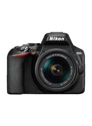 Nikon D3500 DSLR Camera with 18-55mm and 70-300mm Lenses, 24.2MP, Full HD, Black