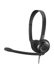 EPOS Wired PC 8 USB Stereo USB Gaming Headset, Black