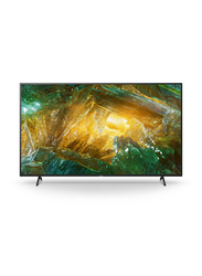 Sony 55-inch X80H 4K Ultra HD LED Android TV, KD55X8000H, Black