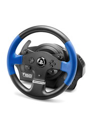 Thrustmaster T150 Force Feedback Racing Wheel for PlayStation PS4/PS3 and PC, Black/Blue