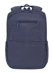 Rivacase Suzuka 15.6-inch Backpack Laptop Bag, Water Resistance, Blue