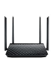 Asus ASU AC-57U RTR Dual Band Wi-Fi Router AC1200, Black