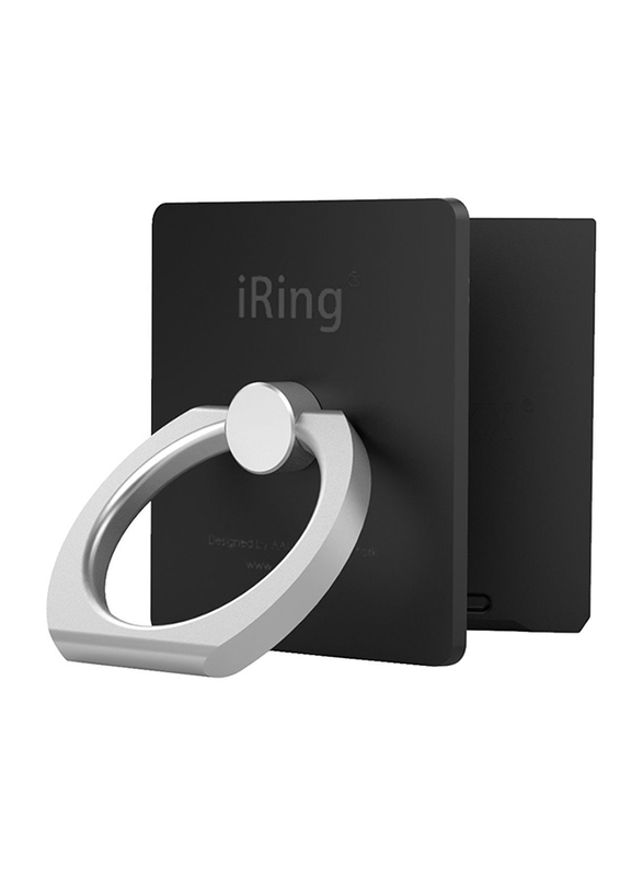 Iring Link Phone Cradle and Stand for Wireless Chargers, Black