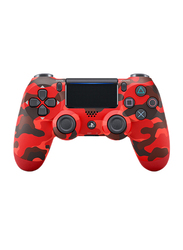 Sony Dualshock 4 V2 Wireless Controller for PlayStation PS4, Red Camouflage