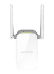 D-Link N300 DL-DAP1325 Wireless Range Extender, White