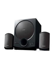 Sony 2.1-Ch Wireless Home Theatre Satellite Speakers, Black