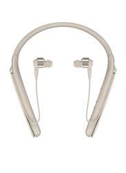 Sony WI1000X Wireless In-Ear Noise Cancelling Headphones, Champagne Gold