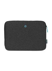 Dicota Skin Flow 13-14.1-inch Sleeve Laptop Bag, Anthracite/Blue