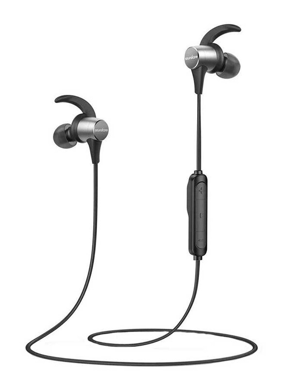 Anker Soundcore Spirit Pro Wireless In-Ear Headphones, Black/Grey