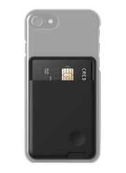 Elago Apple iPhone 7/7 Plus Mobile Phone Card Pocket, Black