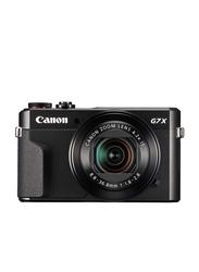 Canon Power shot G7 X Mark II Point and Shoot Camera, 20.1MP, Full HD, 4.2x Optical Zoom, Black