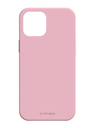 Hyphen Apple iPhone 12 6.1-inch Silicone Mobile Phone Case Cover, Pink