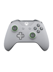 Microsoft WL3-00061 Wireless Controller for Xbox One, Grey/Green