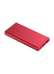 Romoss 10000mAh GT Pro NB10 Power Bank, Red