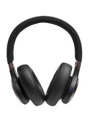 JBL Live 650BTNC Wireless Over-Ear Noise Cancelling Headphones, Black