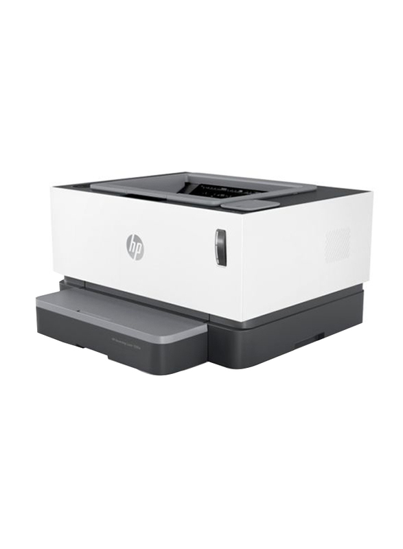 HP Neverstop Laser 1000w 4RY23A All-in-One Printer, White/Black