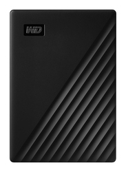 Western Digital 4TB HDD My Passport External Portable Hard Drive, USB 3.2, WDBPKJ0040BBK-WESN, Black