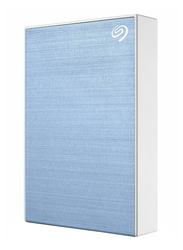 Seagate 2TB HDD Backup Plus Slim STHN2000402 External Portable Hard Drive, USB 3.0, Light Blue
