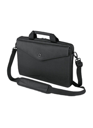 Dicota Slim Case Code 15-inch Messenger Laptop Bag, Black