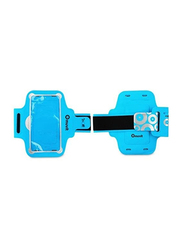 Muvit Lycra Gym Sports Case Armband for 4.7 - 5.7 inch Smartphones/Apple Devices, MUARM0037, Blue