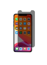 Hyphen Apple iPhone 11 Pro Full Privacy Tempered Glass Screen Protector, Black