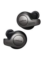 Jabra Elite 65t True Wireless In-Ear Noise Isolation Earbuds, Silver