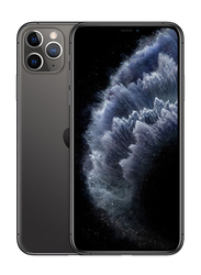 Apple iPhone 11 Pro Max 64GB Space Gray, Without FaceTime, 4GB RAM, 4G LTE, Dual Sim Smartphone