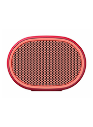 Sony SRS-XB01 Extra Bass Water Resistant Wireless Portable Bluetooth Speaker with Microphone, Red