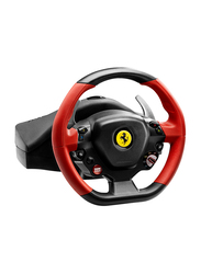Thrustmaster Ferrari 458 Spider Racing Wheel for Xbox One, Black/Red