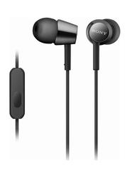 Sony EX Series 3.5 mm Jack In-Ear Headphones, Black